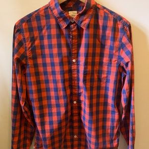 Lived-in Stretch Poplin Shirt GAP